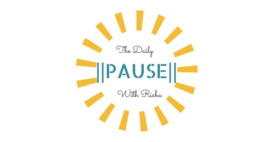 the daily pause